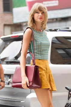 Taylor Swift // August 6, 2014 NYC Well-dressed as always (T.S.)