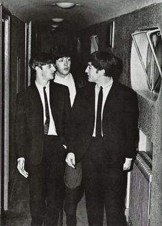 RINGO, PAUL AND JOHN...
