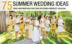 Summer wedding ideas!! Let the planning begin :)