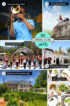 In the mood for a spring girls getaway? Check out our trip ideas! #TCSpringFling