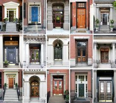 Gorgeous doors belonging to properties throughout Boston, MA.