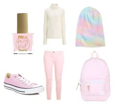 """""""Taurus"""" by small-and-cute on Polyvore featuring ncLA, Herschel, Current/Elliott and Converse"""