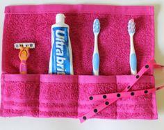 Brosse à dents de voyage, trousses de toilette Roll, dentifrice, rose Fuschia, cadeau sous 10, livraison gratuite
