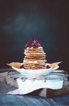 ... ricotta pancakes ...