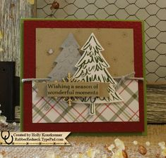 Peaceful Pines by catrules - Cards and Paper Crafts at Splitcoaststampers