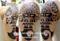 Tribal Tumi Tattoo