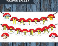 Bannière dinspiration Pokemon Pokemon par WhimsicallyCreated