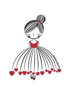 Cute doodles · mandala girl draw illustration design sketch art design by : easy drawings, pencil drawings Cute Easy Drawings, Art Drawings For Kids, Art Drawings Sketches Simple, Pencil Art Drawings, Sketch Art, Sketch Ideas, Drawing Designs, Drawing Ideas, Art Du Croquis
