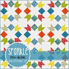 Sparkle - A Free pattern from Piece N Quilt.