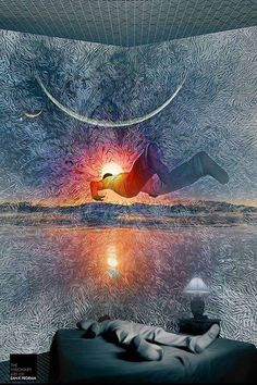 When you dream are you sure you're just dreaming and not unconsciously Astral Projecting? See you all in the Astral Plane by starseedwisdom Astral Projection, Zen, Astral Plane, Out Of Body, Psy Art, Visionary Art, Psychedelic Art, Surreal Art, Trippy