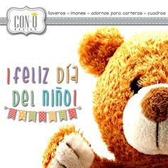 Que todo niño tenga una infancia feliz!  #FelizDíaDelNiño   #ConQdesign  by @claudia_cassani  Pedidos vía email & whatsapp [ver perfil]
