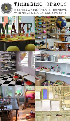Tinkering Spaces: A Series of Informative and Inspiring makerspace tours and Interviews with Makers, Educators, and Parents Classroom Design, Classroom Decor, Cultura Maker, Maker Labs, Innovation Lab, Stem Steam, Classroom Environment, Project Based Learning, Library Design
