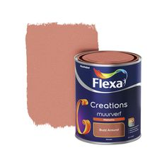 Flexa Creations metallic muurverf mat buzz around 1 l kopen? Blue Bedroom Decor, Bedroom Wall Colors, Diy Home Decor Bedroom, Bedroom Color Schemes, Living Room Decor, Colourful Living Room, Boho Kitchen, House Rooms, Decoration