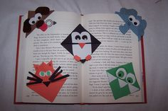 Corner Bookmarks - Shelby made these, and really enjoys it!!
