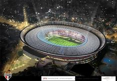 Fifa World Cup 2014 Brazil Soccer Stadiums Soccer Post, Soccer Fans, Soccer World, Play Soccer, Soccer Stadium, Football Stadiums, World Cup 2014, Fifa World Cup, Go Brazil