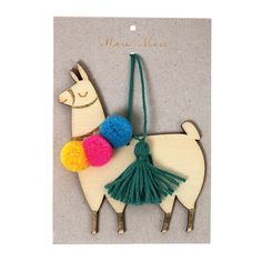 llama tree decoration | meri meri