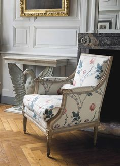 A Louis XVI marquise stamped by Georges Jacob,  late 18th century #laviedechateau