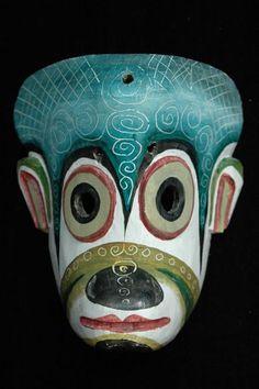 Decorative monkey mask, Guatemala (b) by permtran, via Flickr