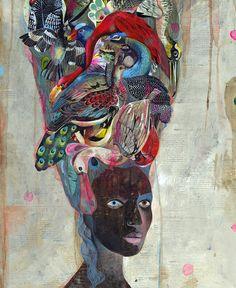 Black Antoinette   Olaf Hajek inspiration
