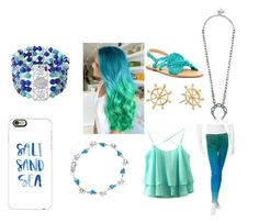 """""""Daughter of Poseidon"""" by slytheringirl1033 ❤ liked on Polyvore featuring Casetify, J Brand, BaubleBar, Napier, Avenue and Latigo"""