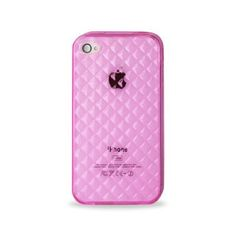 Apple iPhone 4 OtterBox Defender Case (Pink / White
