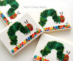 Sister's Cakery Bakery-The Very Hungry Caterpillar Cookies
