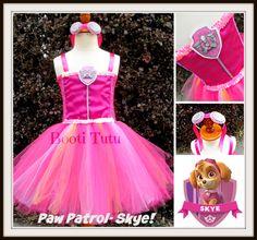 Paw patrol sky kleid