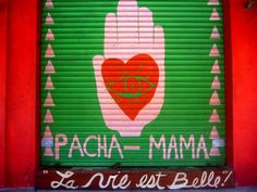 Door to Pacha-Mama in #Sayulita Maxico super hip shop with stunning hand made clothes and accessories