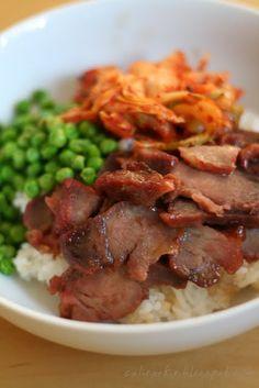 Char Siu-Kimchi Don