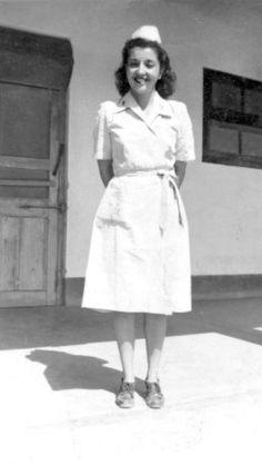 Old Fashioned Probationer Nurse Uniform