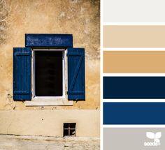 Shuttered palette