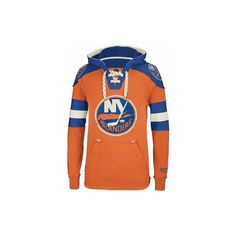 CCM 207FA/H Pullover Hockey Hoodie New York Islanders Senior ($85) ❤ liked on Polyvore featuring tops, hoodies, red hoodies, pullover hoodie, hooded pullover, pullover tops and sweater pullover