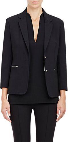 The Row Compact Jersey Maverick Jacket - Blazer - Barneys.com