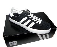 huge selection of c3459 d8482 Adidas Men s Skate ADV Black White Sneakers size 8.5 BB8713 New With Box. Zapatillas  BlancasAdidas HombreBlanco Negro