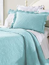 Tile Matelasse Bedding Collection | linensource