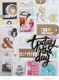 Enjoythelittlethings  scrapbooking layout studio calico