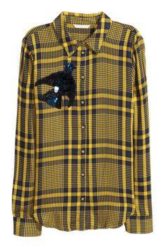 Рубашка - Желтый - Женщины | H&M RU