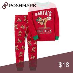 Carter s - Santa s Side Kick Pajama Set (NWT) Carter s
