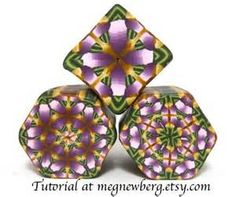 1511 best POLYMER CLAY CANES images on Pinterest   Polymer ...