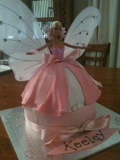 Cake Darci wants Fairy Birthday Cake, Birthday Cake Girls, Birthday Cakes, Mini Tortillas, Gorgeous Cakes, Amazing Cakes, Princesa Sophia, Barbie Cake, Cupcake Cakes