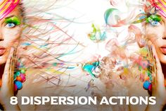 8 Dispersion Actions by ArtPlanet on Creative Market