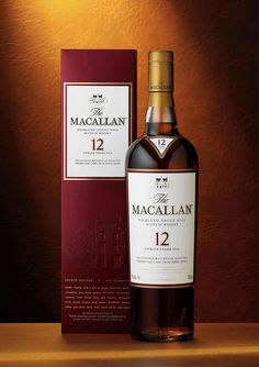 Macallan 12 Year Old Single Malt Scotch Whisky Speyside