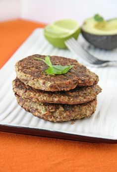 Southwest Quinoa Patties. More diet recipes! Every bit as good as the cheese sticks!