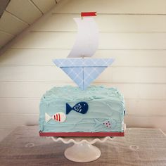 Christening cake for a boy - Cakes by Beate, The Birdcage Stellenbosch