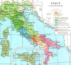 Please observe that during the XI century, Venice was considered among Byzantine territories and dependencies (pink). But on the other map, which is about the XII and XIII centuries Venice is considered independent, whilst allied to the Byzantines. Please notice the Dalmatian territories too. (Map Source: http://www.fordham.edu/halsall/maps/11citaly.jpg)
