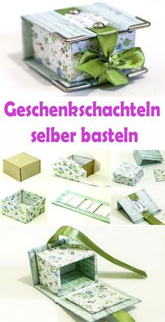 Geschenkschachteln selber basteln – Kostenlose DIY Vorlagen Tinkering boxes is a lot of fun for children and adults! Paper boxes are inexpensive, practical and light. Corporate Gift Baskets, Corporate Gifts, Christmas Presents For Men, Graduation Gifts For Him, Graduation Balloons, Creative Box, Origami, Diy For Men, Perfect Gift For Him