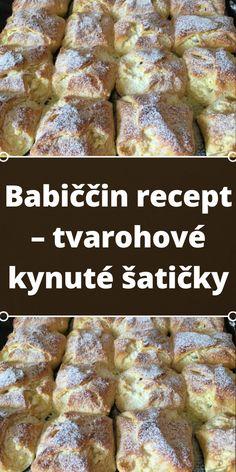 Slovak Recipes, Czech Recipes, Baking Recipes, Vegan Recipes, Dessert Recipes, Good Food, Yummy Food, Polish Recipes, Gluten Free Diet