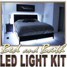 Biltek 16.4' ft Cool White Bath Tub Sink Mirror LED Strip Lighting Complete Package Kit Lamp Light DIY - Headboard Closet Make Up Counter Mirror Light Lamp Waterproof 3528 SMD Flexible DIY 110V-220V -- Discover this special product, click the image : DIY : Do It Yourself Today
