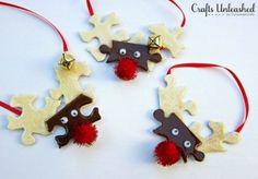 10 Easy DIY Christmas Ornaments Using Mod Podge