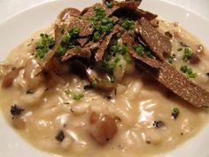 Risotto con castagne, tartufo ed erba cipollina - ricetta inserita da Laura Rangoni